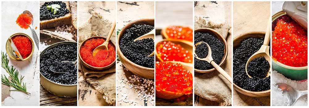 Prova på rysk kaviar med Bas International!