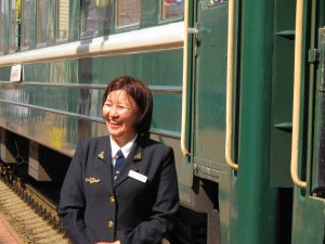 Transsibiriska Järnvägen utan stopp till Beijing