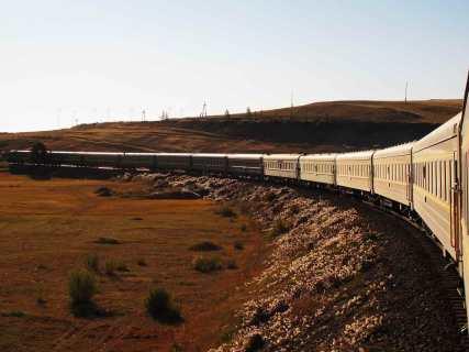 Transsibiriska Järnvägen med Irkutsk och Mongoliet